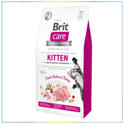 Brit Care Kitten Healthy Growth Tahılsız Tavuklu & Hindili Yavru Kedi Maması 7 Kg