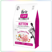 Brit Care Kitten Healthy Growth Tahılsız Tavuklu & Hindili Yavru Kedi Maması 2 Kg